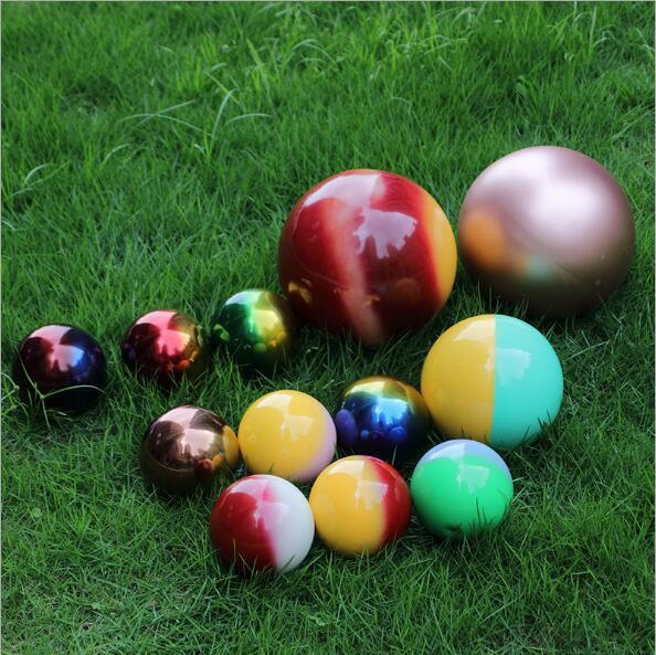 colorful decorative stainless steel ball /sphere