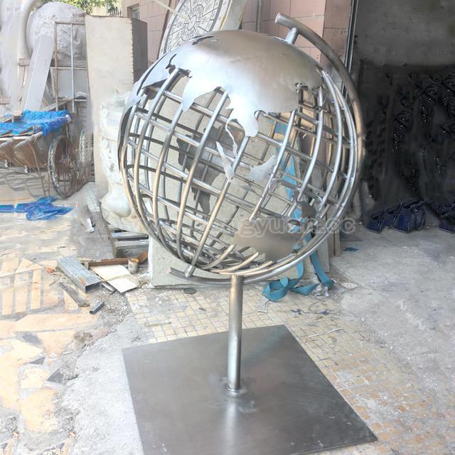 Stainless SteelGlobe,GazingWorld Map Ball