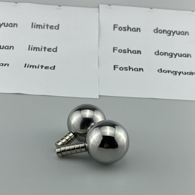 SS 430Stainless SteelHollow Sphere with Magnetismfor Toy