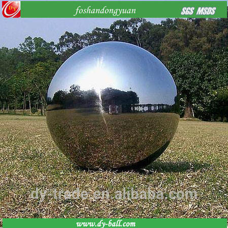 large stainless steel ball