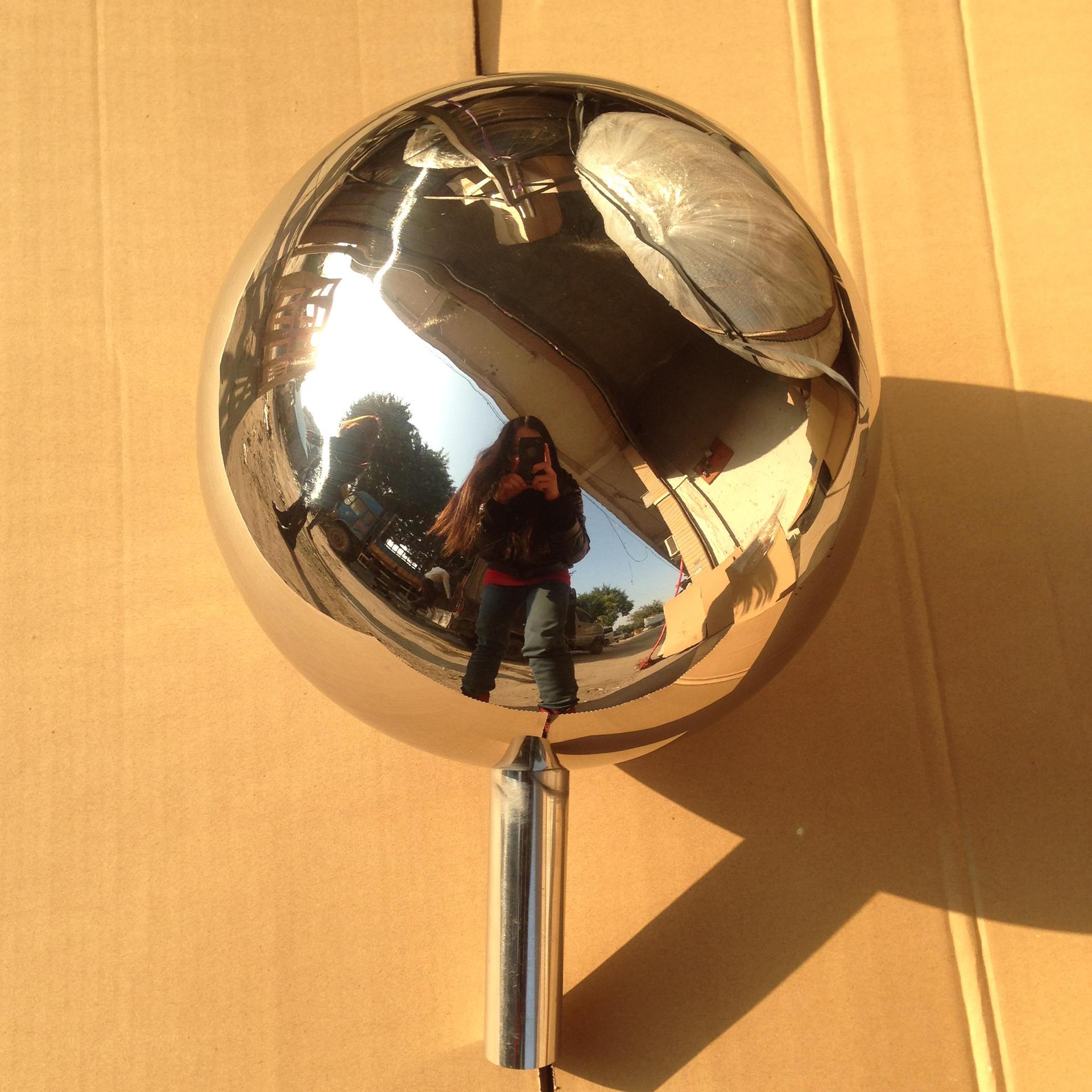 Garden Stainless Steel Balls/Garden gazing Spheres/hotel decoration sculpture