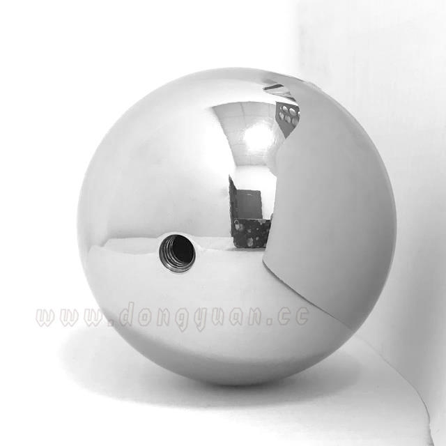 Stainless Steel Hollow Beads with Hole / Screw for Christmas Decoration and Furniture Fittings