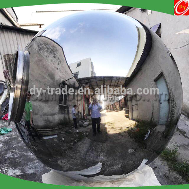2.1 Meter/7 Feet Large Highly Polished Stainless Steel Hollow Sphere for Street, School, Park