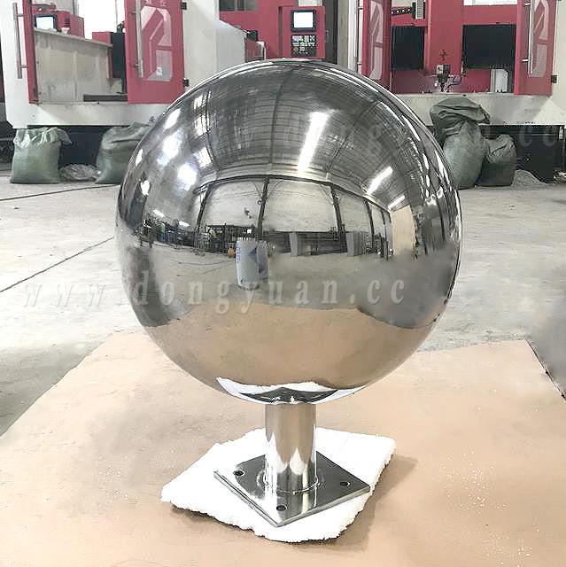 Stainless Steel Globe, Inox Steel Sphere, Gazing Ball