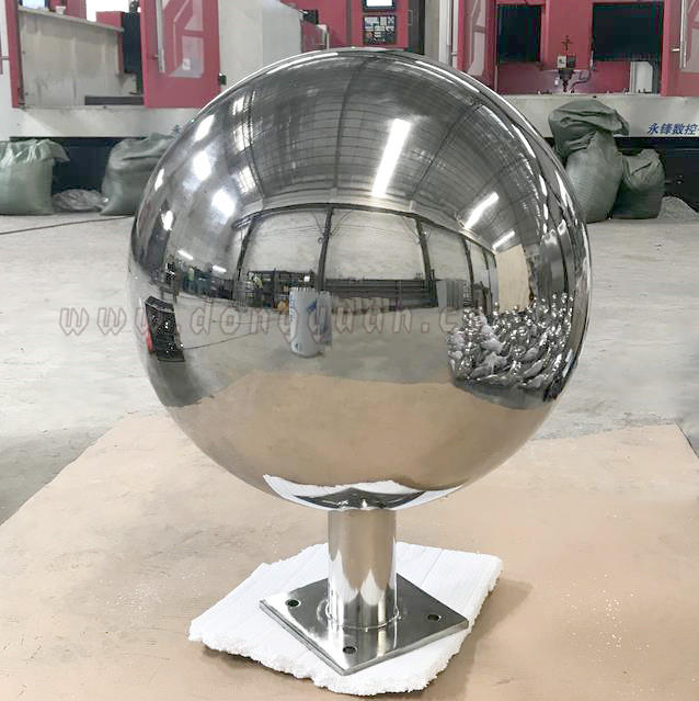 Large Stainless Steel Globe Sphere for Water Feature