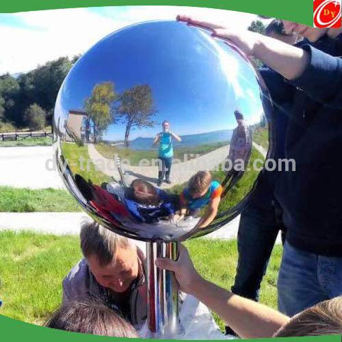 Stainless Steel Ball Manufacturer for the Garden, Garden Decoration Supplies