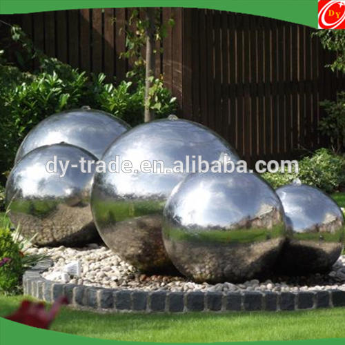 Stainless Steel Fountain Sphere Sculpture
