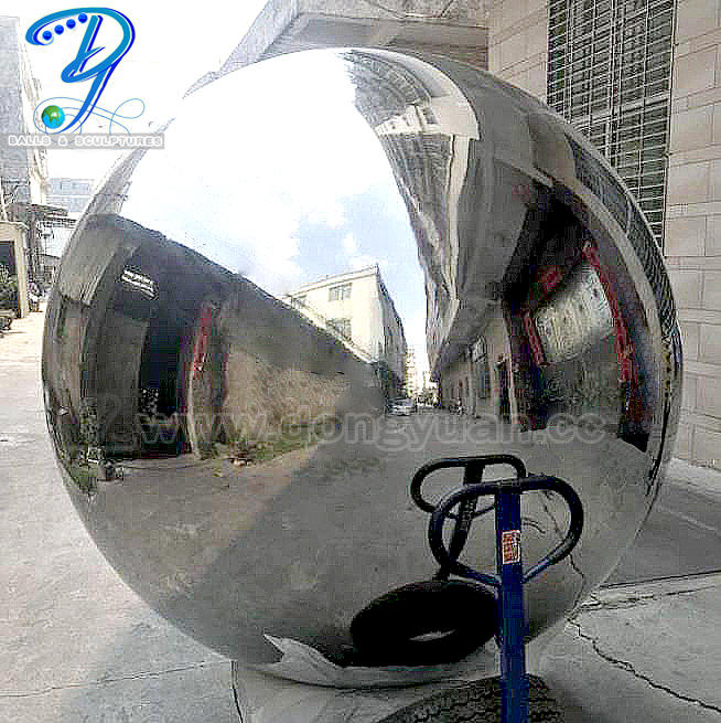 1400mm New Gazing Inox Steel Sphere