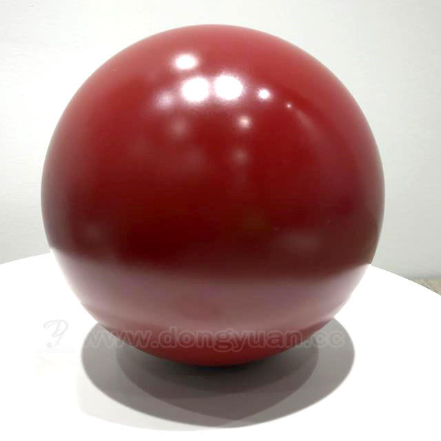 Matte Red ColorStainless Steel Decorative Ball