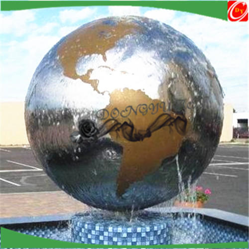Large stainless steel ball for outdoor decoration ,big stainless steel globes/sphere