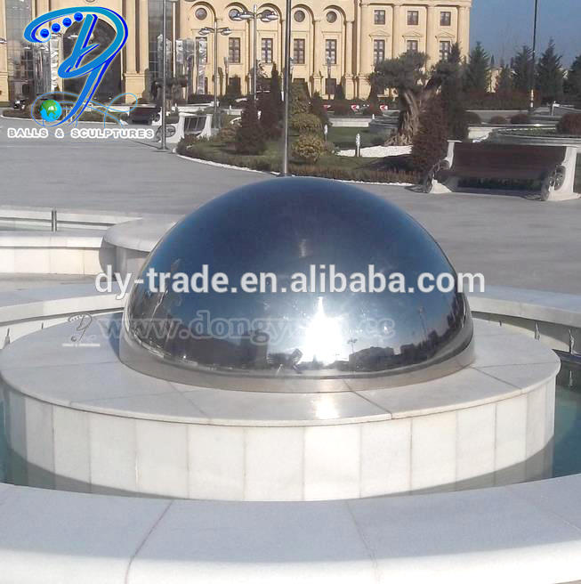 AISI 316 Big size stainless steel hollow ball/ Large mirror steel balls/ AISI 316 globe hollow balls