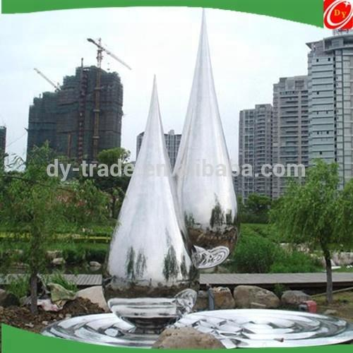 Stainless Steel Water Features Garden Waterfall