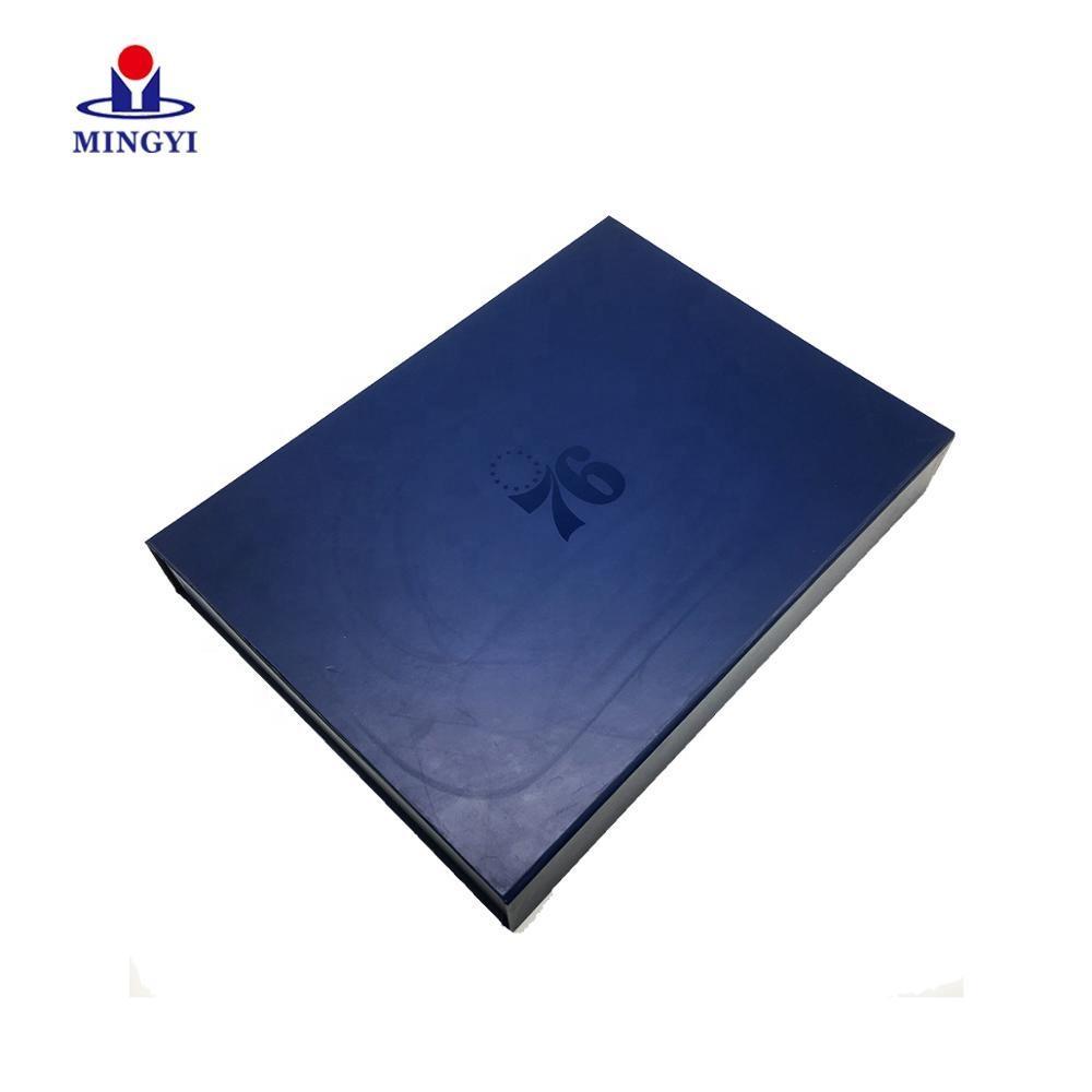 Black Cardboard Box Custom Logo With EVA andMagnet Gift Boxes