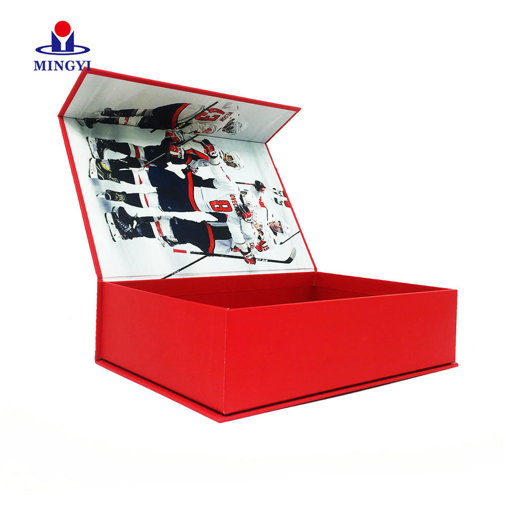 Custom size paper box gift for panthers nfl jersey best quality