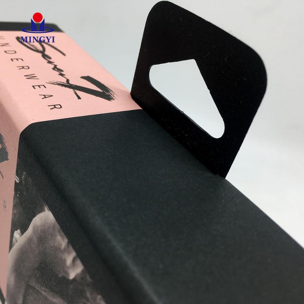 Factory custom packaging gift box for lingerie cardboard lingerie box