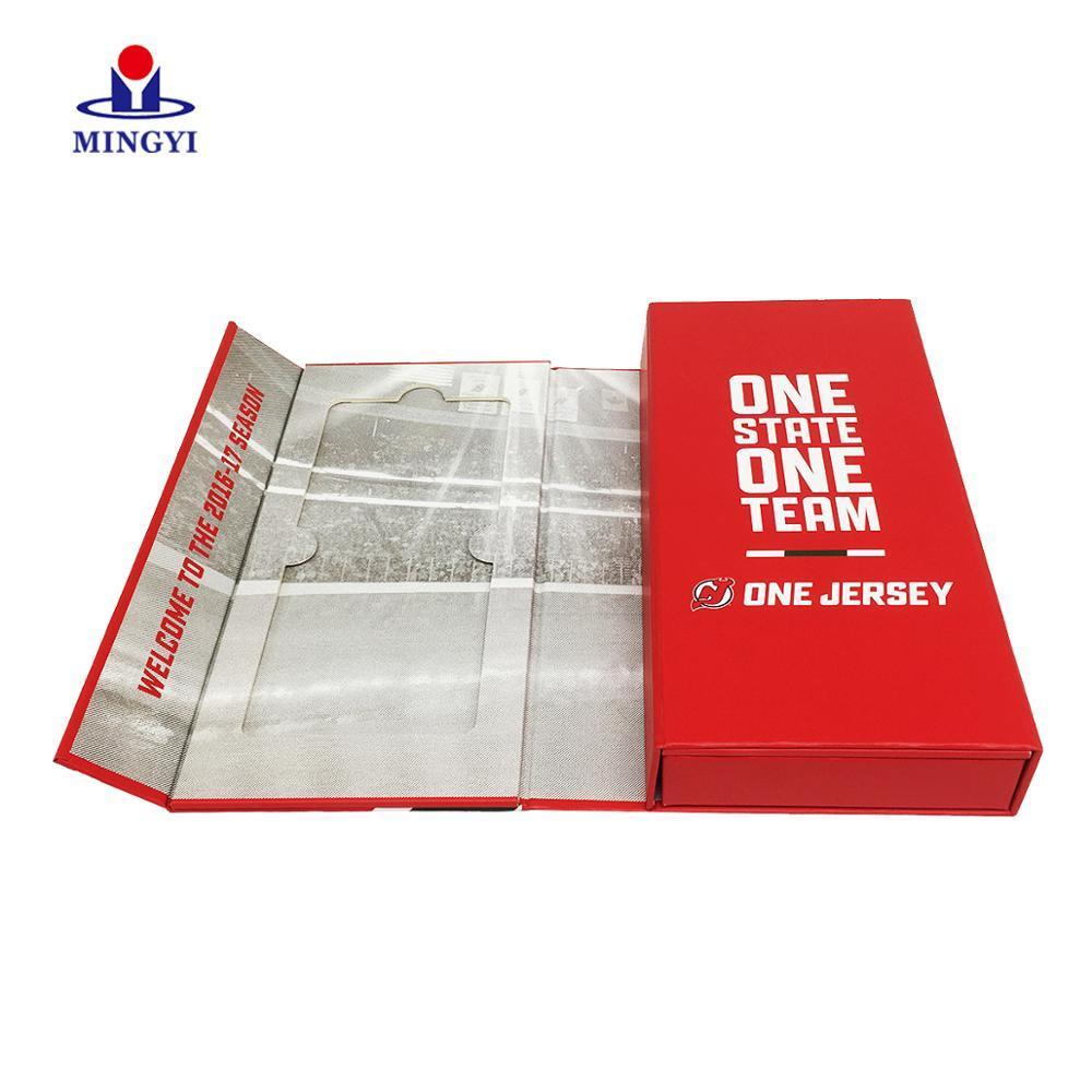 Custom magnetic cardboard invitation card box