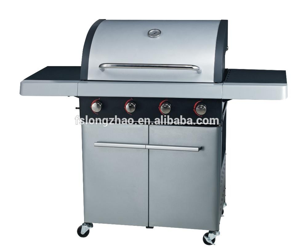 2020 Promotional BBQ Gas Grill Stainless Steel BBQ Grill