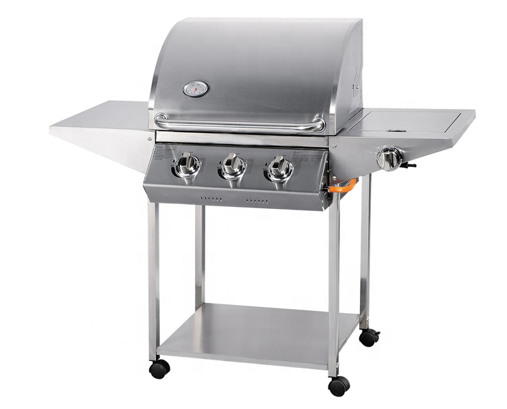 Professional Manufacturer Cold Drawing BBQ Gas Grill Trolley
