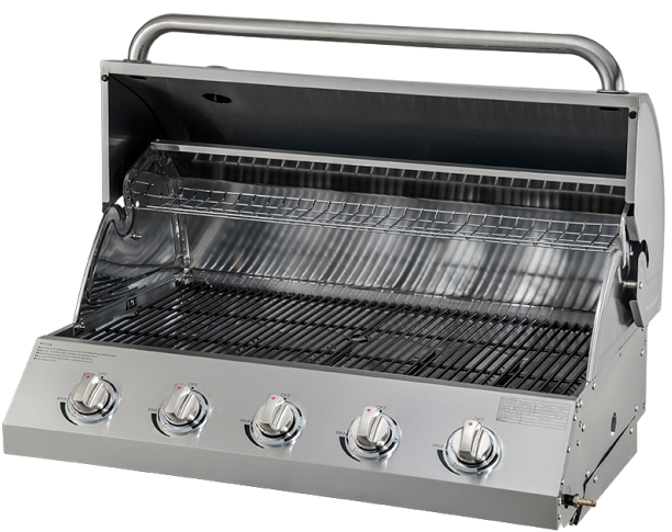 Five Burners Built-In Gas Propane BBQ Grills