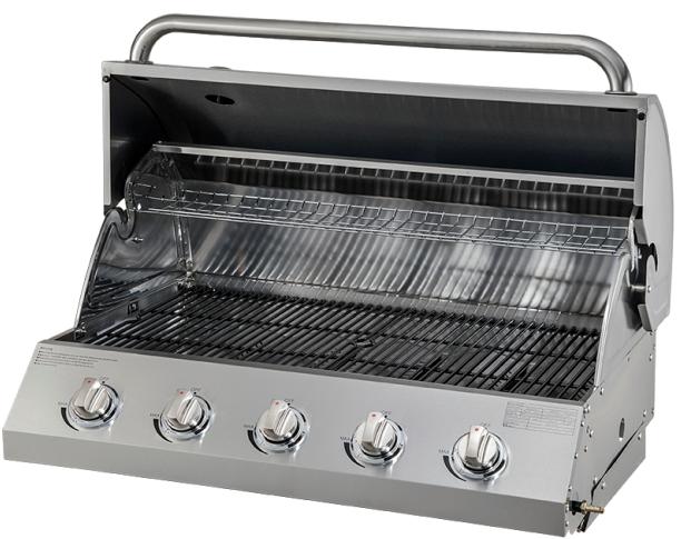 Five Burners Built-In Gas Propane BBQ Grills