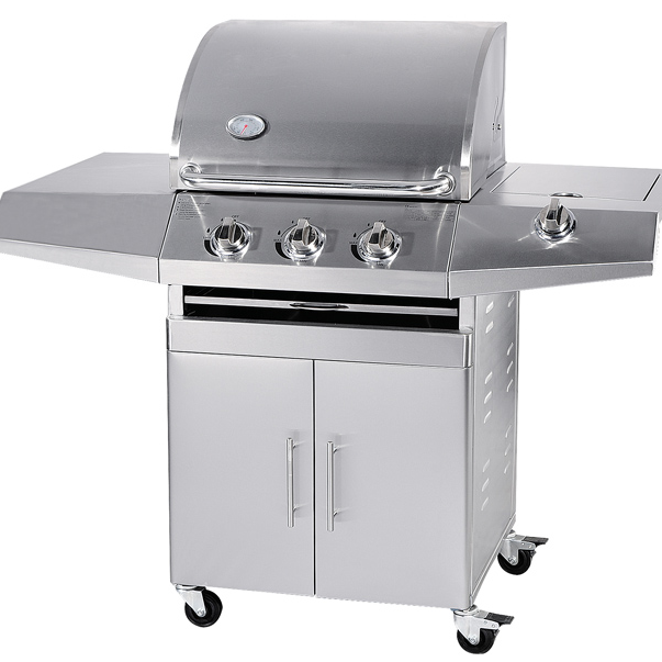 2020 Hot Sale 3 Burners/ 4 Burners / 5 Burners Barbecue Stainless Steel BBQ Grills