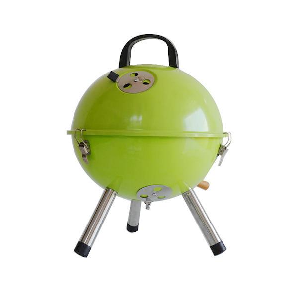 Round Barbecue Grill Mini Barbecue Grill 12 Inch Football Grills