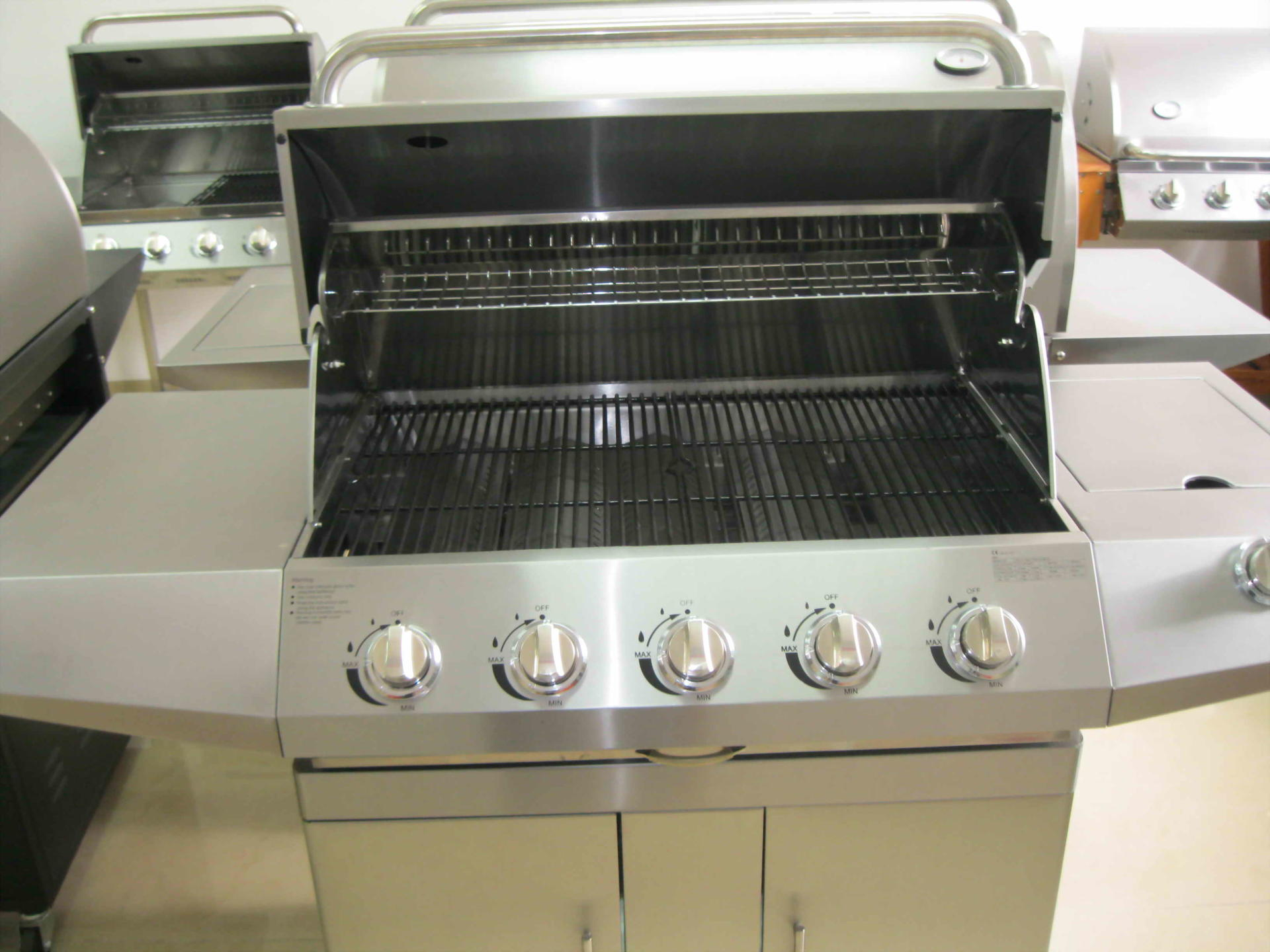 professional BBQ Gas Grill stainless steel gate grill bbq grill indoor