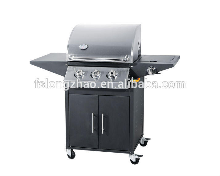 Stainless Steel Gas Barbecue Grill with 3burner12000 BTU/HR=3.5KW B113S