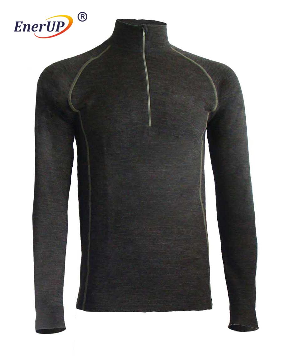 Merino wool men's underwear t shirt
