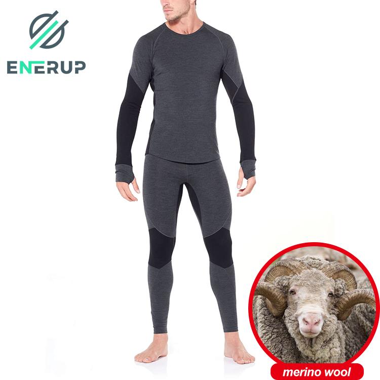 100 % Merino wool and 100% polyester Inner Underwear