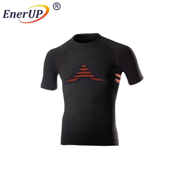 Custom sports gym clothing short sleeve thermal wicking fit t shirt