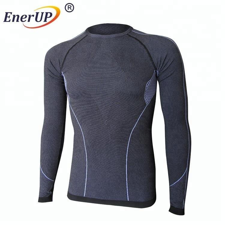 skin tight mens long sleeve slimming inner wear t shirt camisetas for unisex
