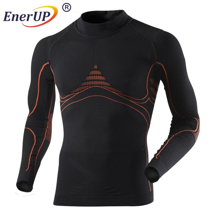 Men's 1/2 Zip Merino Wool Base Layer for Lots of Outdoor Activities