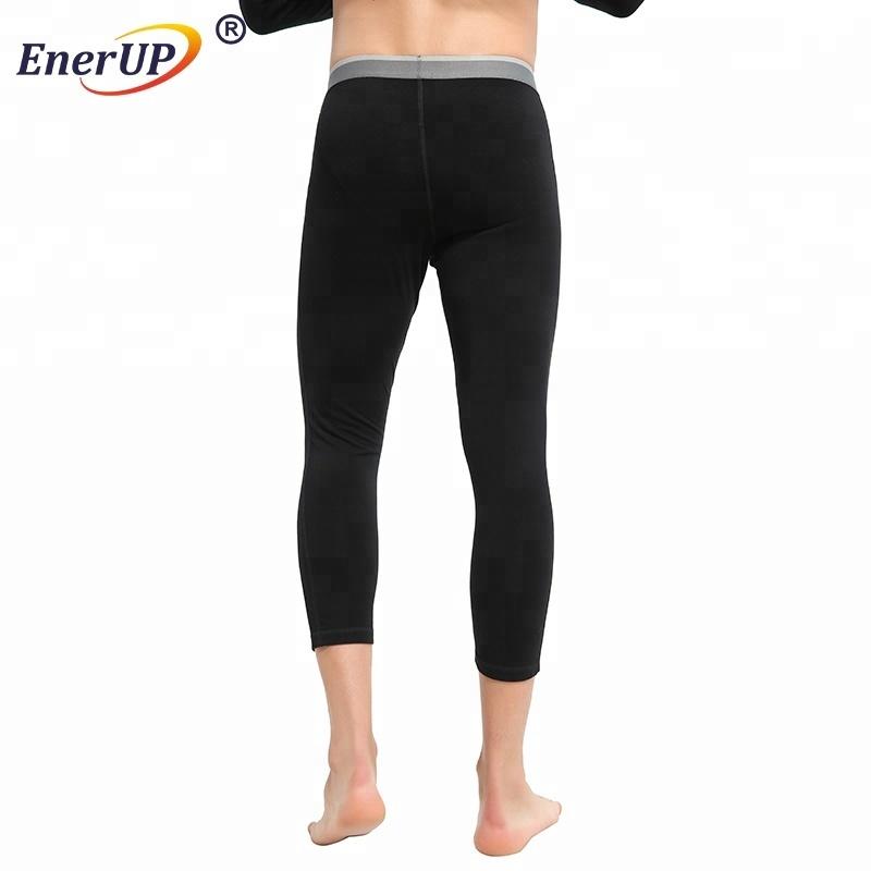 Thermal 100% Merino Wool Man 3/4 Long Johns/Pants