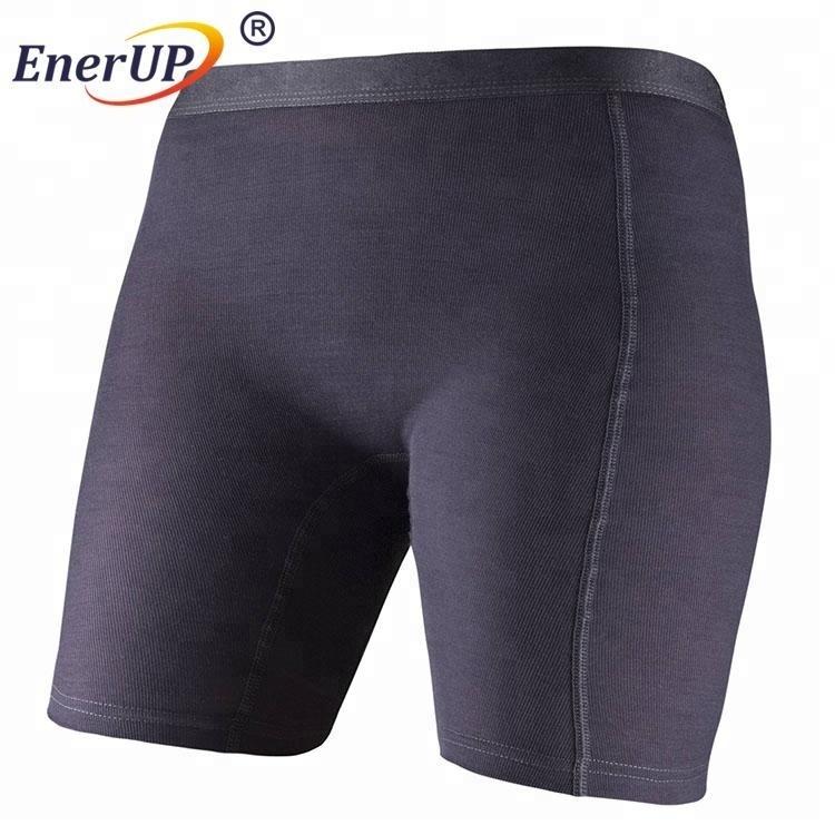 Black Merino Wool Polyester Women Shorts