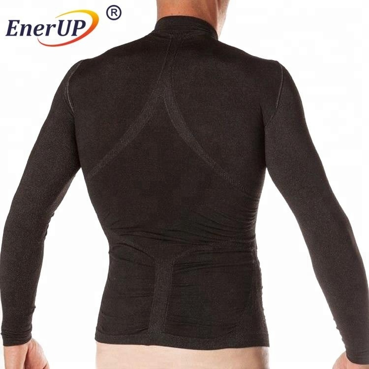 Sportswear long sleeve thermal compression