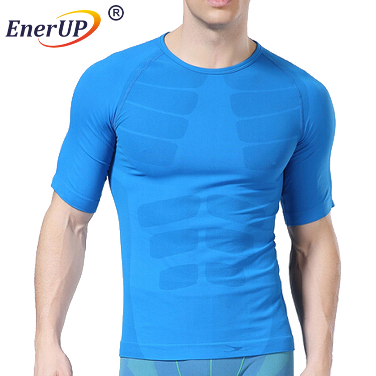 Custom Raglan Sleeve Anti-Fatigue Series Wear Blank Plain Short T Shirt For Gym