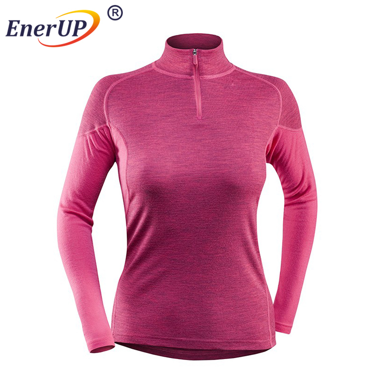 Custom merino bamboo jersey thermal underwear