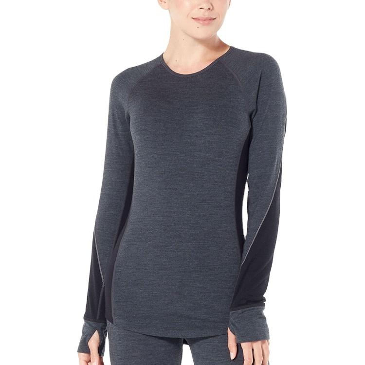Enerup High Quality Sports Wear Compression Merino Wool Thermal Underwear Baselayer Leggings For Women