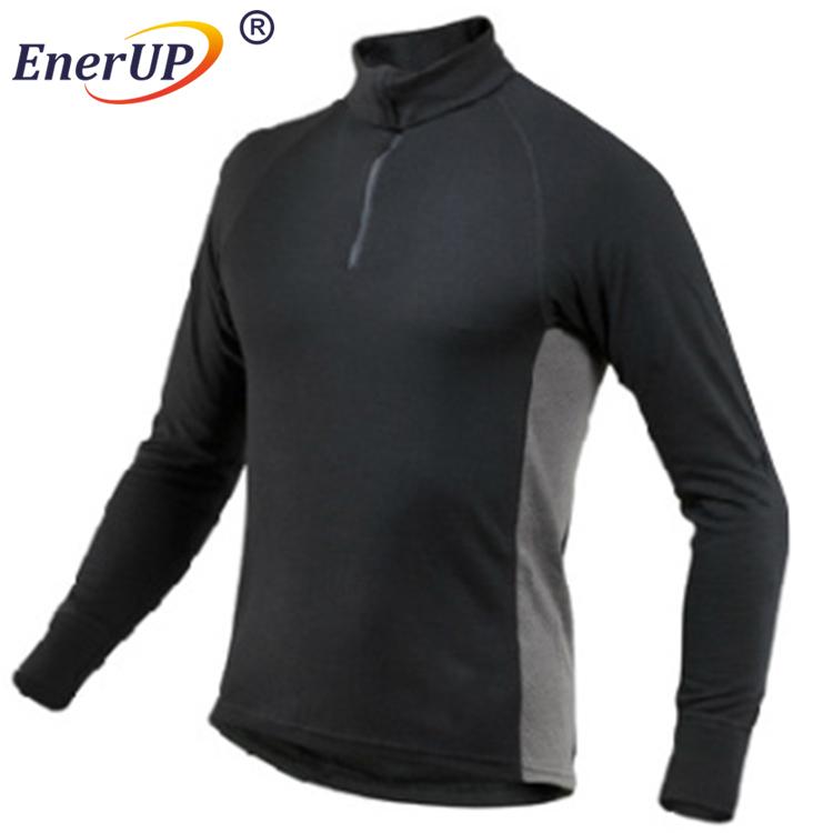 Sport Man T-shirt Made by 100% Merino Wool