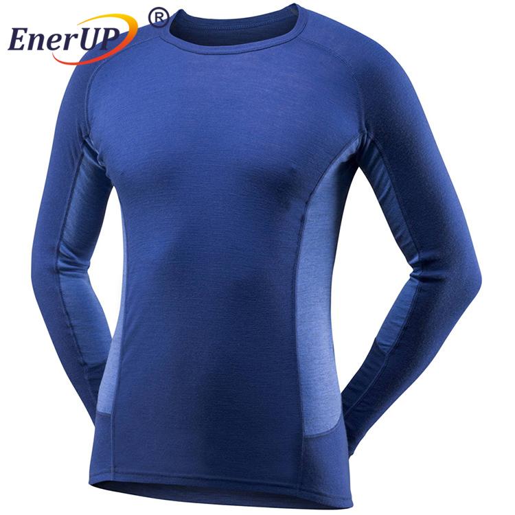 Women Sport Wear Running T shirt Thermal Wicking Antibacterial Long Sleeve underwear Inner Wear for winter