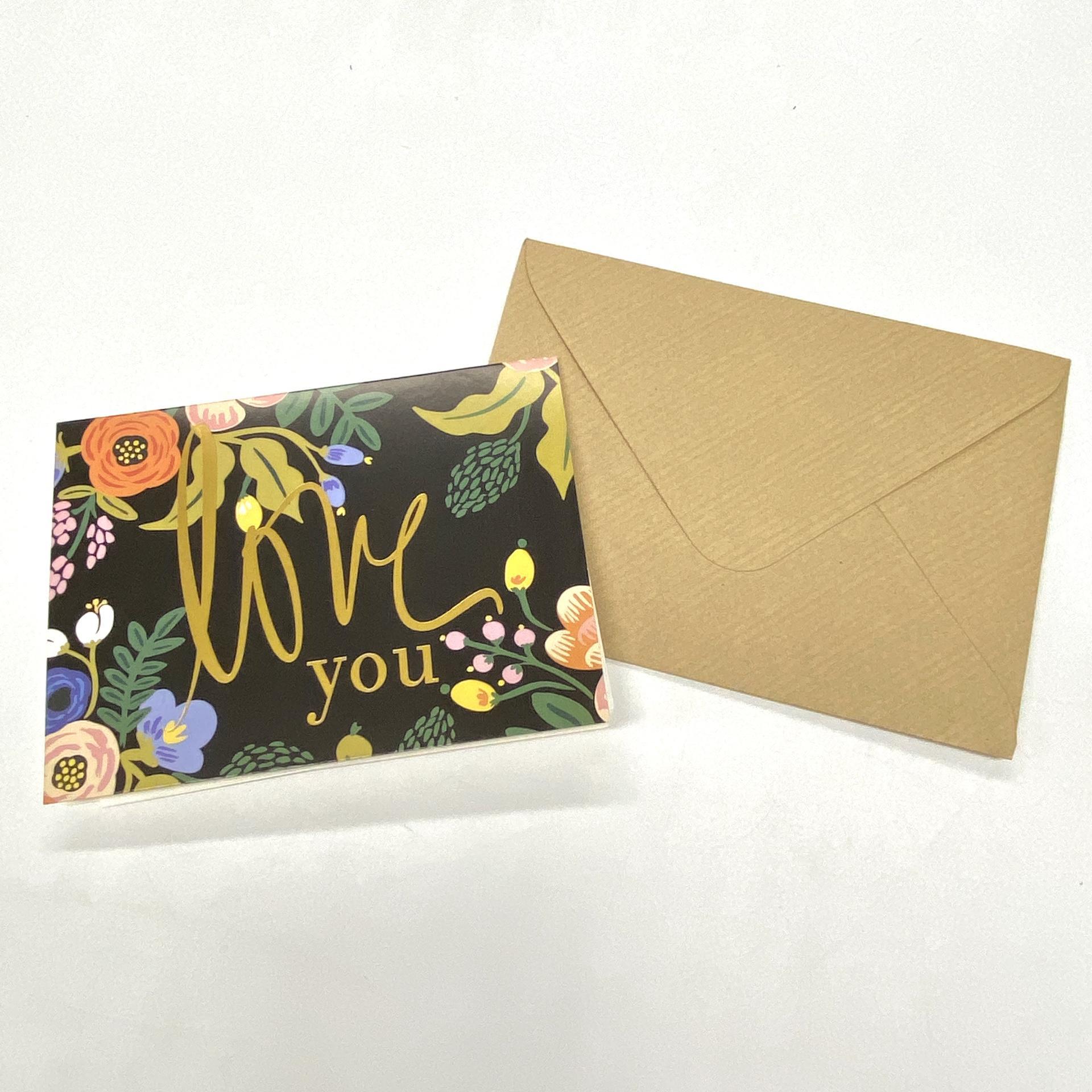 product-High-Grade Custom Kraft Paper Christmas Envelopes Business Thank You Card-Dezheng-img-1