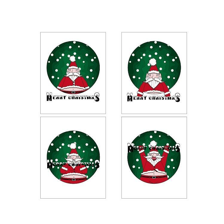 product-High-Grade Custom Kraft Paper Christmas Envelopes Business Thank You Card-Dezheng-img-4