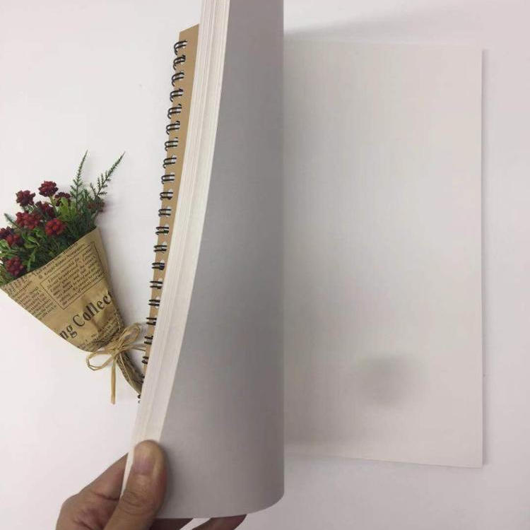 a5 / a4/ eco-friendly notebook Colouring / Coloring Book / sketch book Printing customized Spiral Sketchbook with stencils