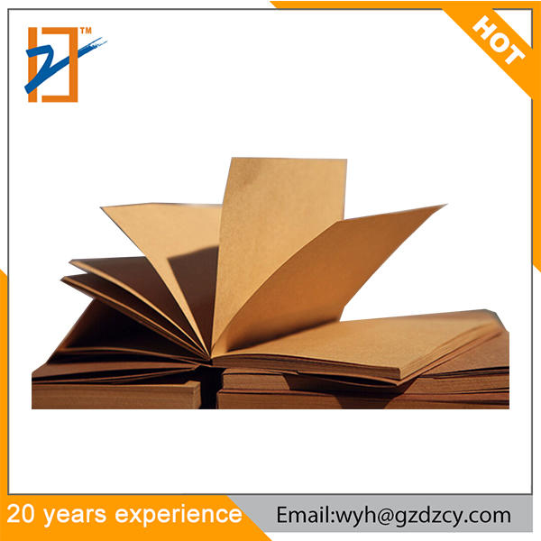 product-Dezheng-2018 Trending Durable Stitching Lay Flat Recycle Brown A5 Kraft Notebook-img-1