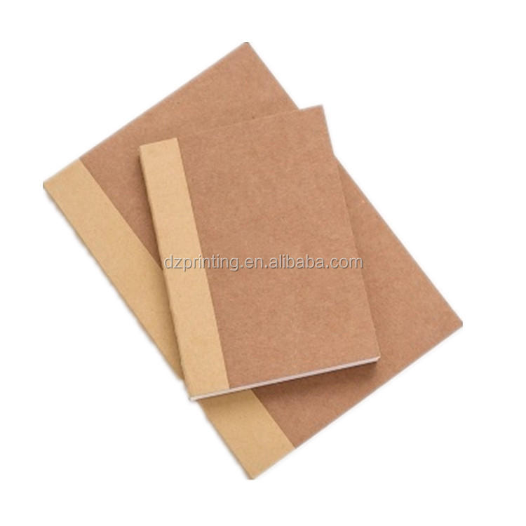 product-Paper Notebook Manufacturer A4 A5 A6 Kraft Lay Flat Book With Blank White Pages-Dezheng-img-1