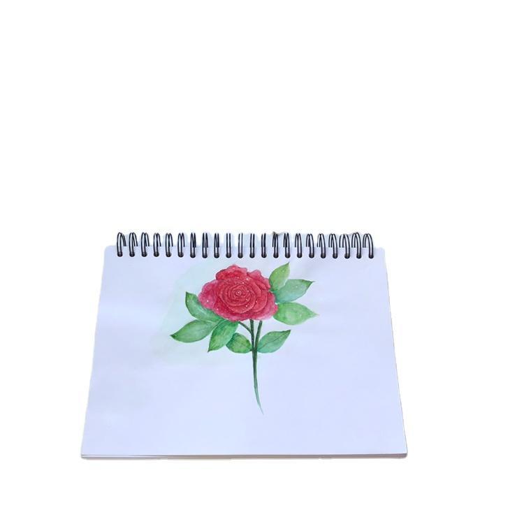US Amazon Wholesale watercolor Paper Pad,sketchbook Ink Sketch Book With Kraft Paper,custom logo