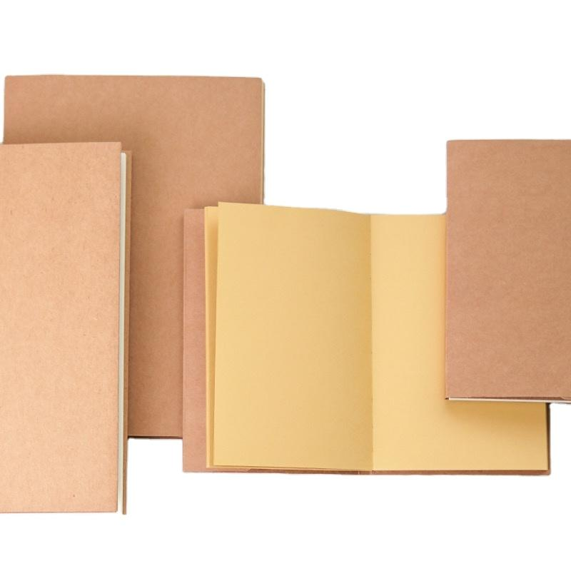 High Quality Concise Custom Logo Blank Kraft Cover Note Book Watercolor Sketchbook