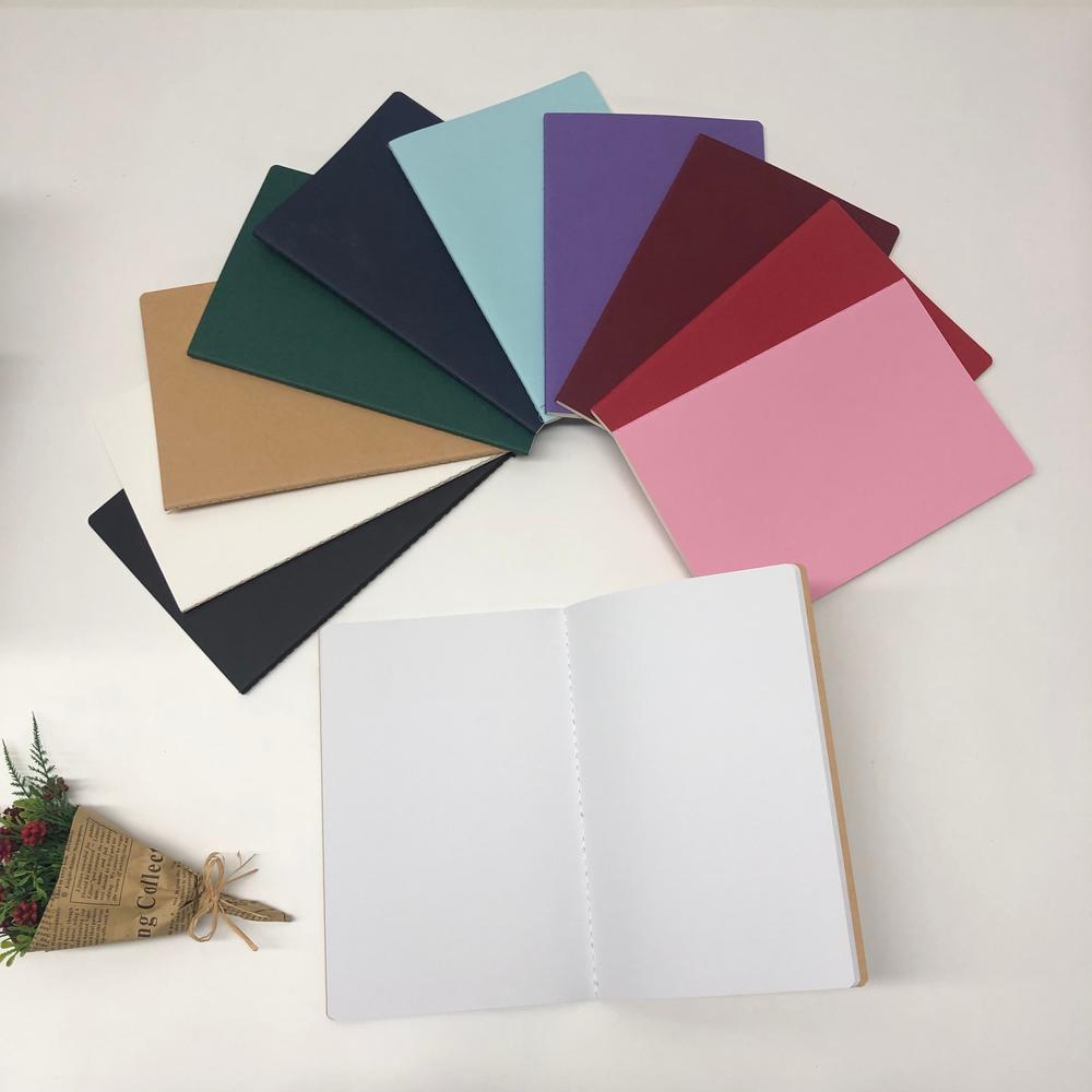 Best Wholesale Blank Black Drawing Sketchbook With 60 Pages Kraft Paper,custom logo