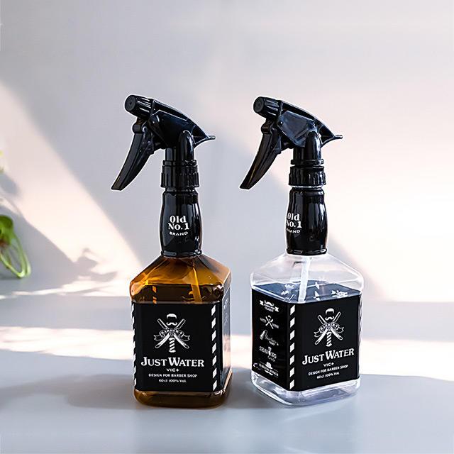 plastic Reusable Trigger Hair Salon Bottle Hair Spray Water Bottle For Barber